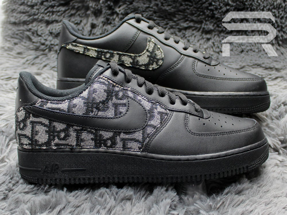 """Image of """"Blackout Dior"""" Air Force 1"""
