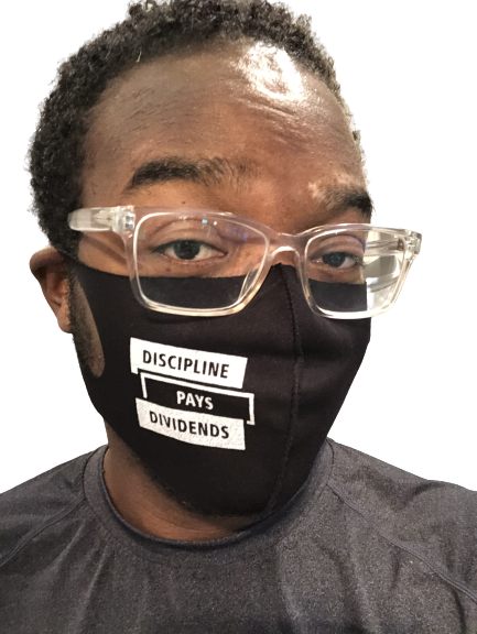 Image of Discipline Pays Dividends Face Mask