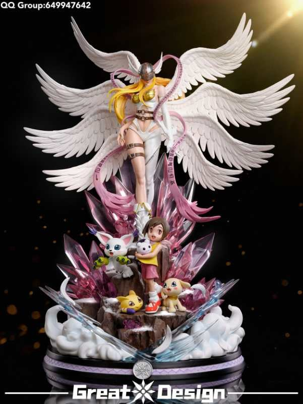 Image of [Pre-Order]Digimon GD Studio Angemon Resin Statue