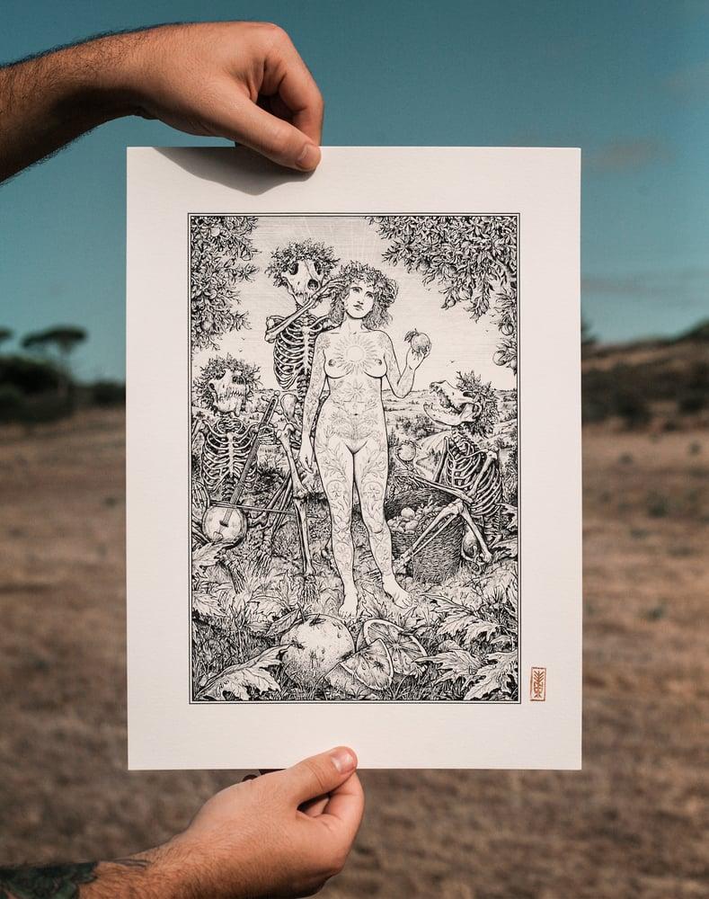 Image of Orange Juice Ritual · Print