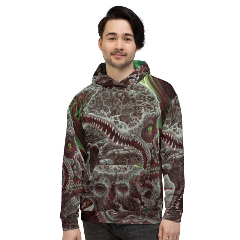 Tormented Forms Unisex Hoodie by Mark Cooper Art