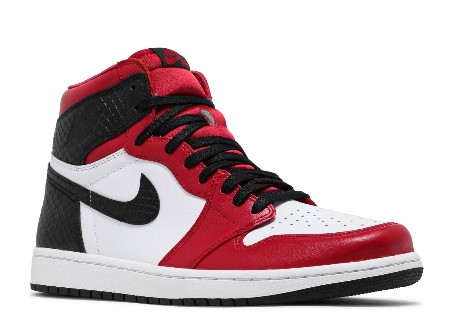"Image of Nike Retro Air Jordan 1 "" Satin Snakeskin"" Sz 6.5W/5M"