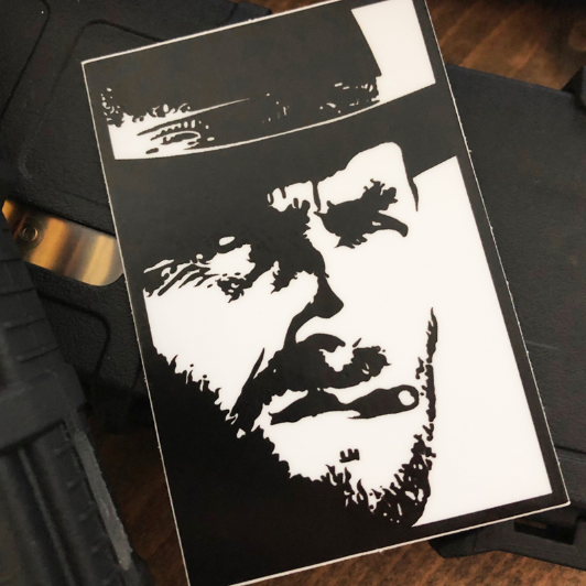 Image of CLINT EASTWOOD // STICKER
