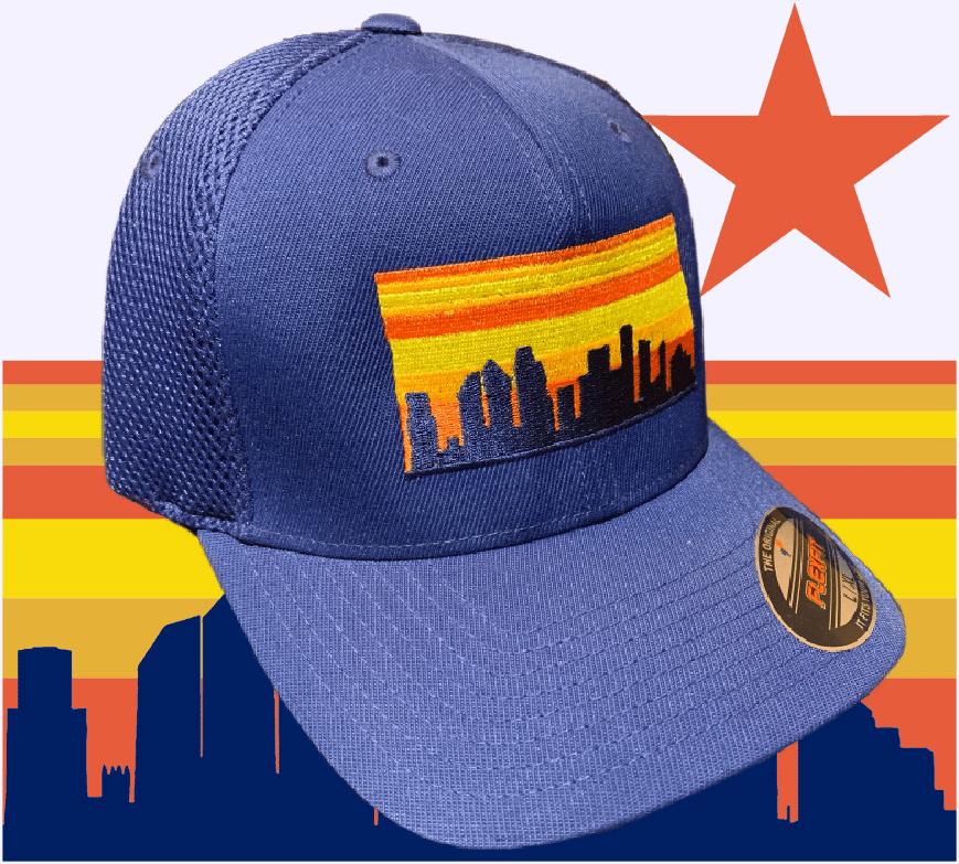 Houston Skyline Flexfit Hat