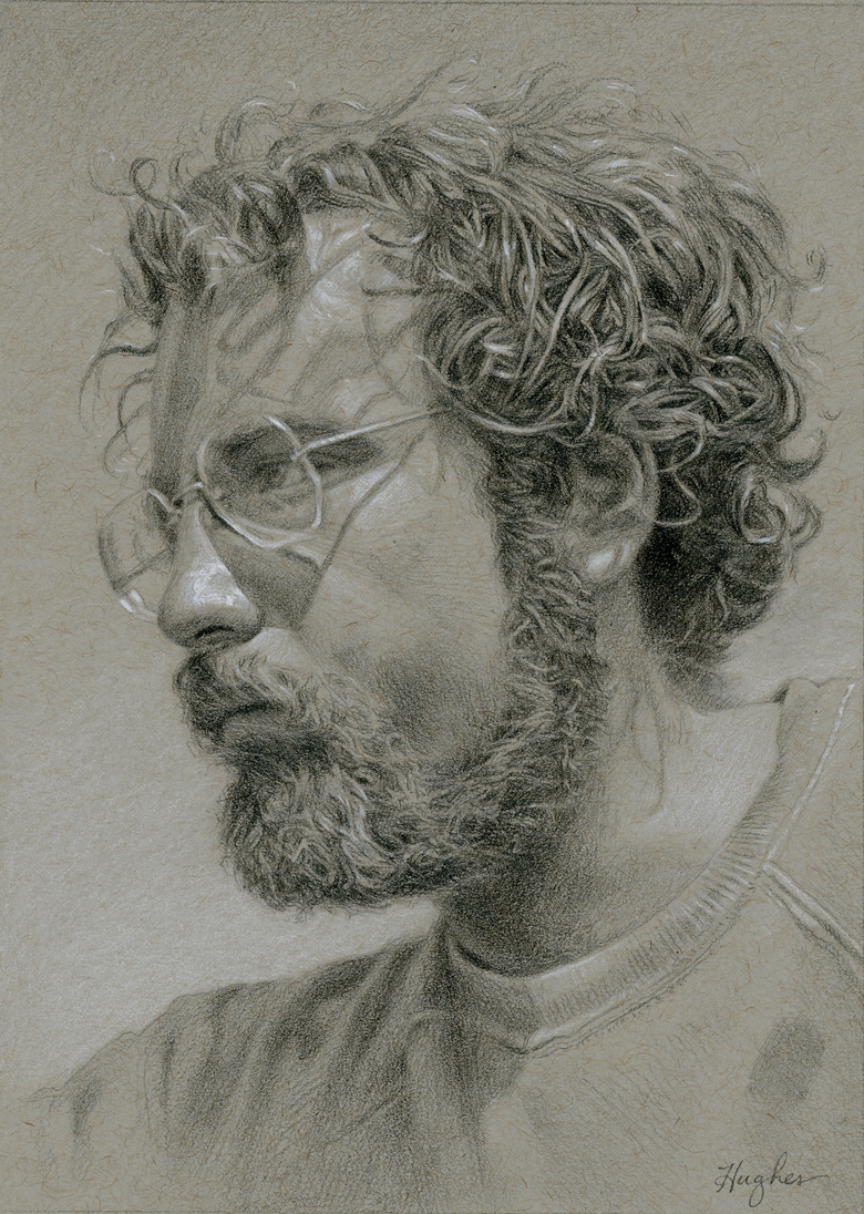 "Image of Commission: Small Portrait Drawing 5""x7"""