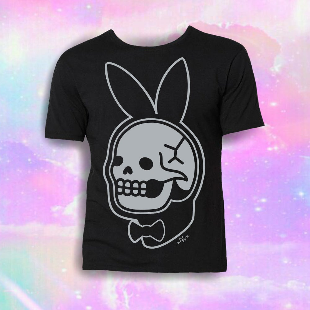 Image of The bunny skull shirt