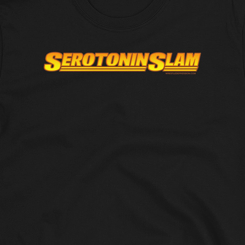 WRESTLE DEPRESSION - SEROTONIN SLAM - T-SHIRT