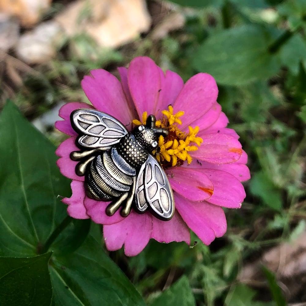 Image of 3D Honey Bee pins