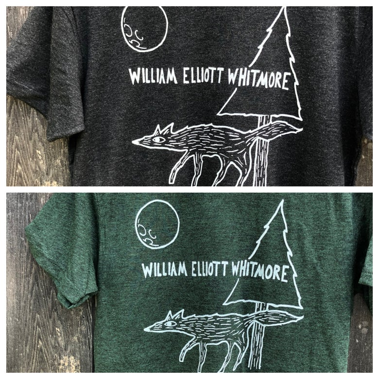 Image of (Unisex) Coyote and Moon T-shirt