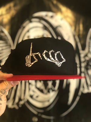 Image of Throw your hood up Snap Back