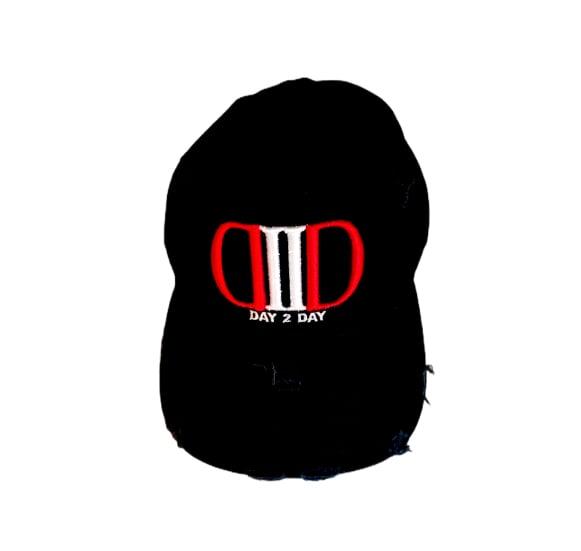 Black/White/Red Dad Hat