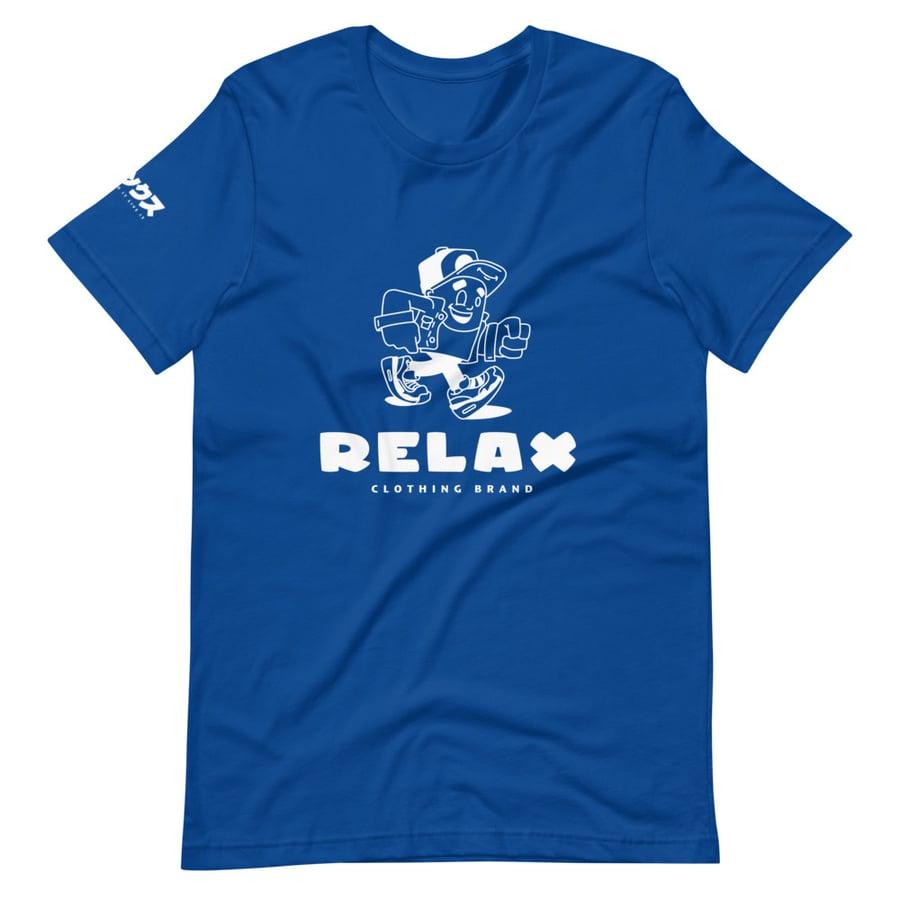 Image of Relax Mascot Tee