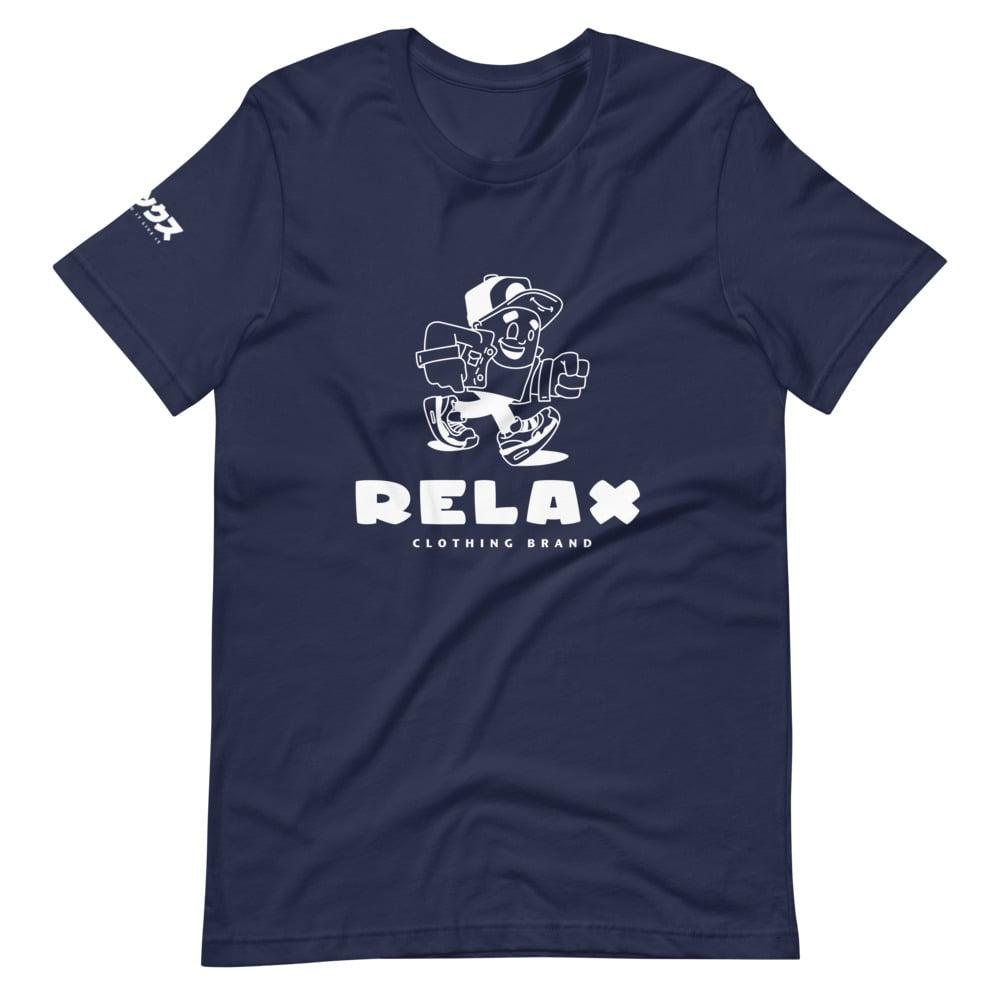 Relax Mascot Tee