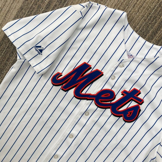 Image of Pedro Martinez New York Mets Majestic Jersey