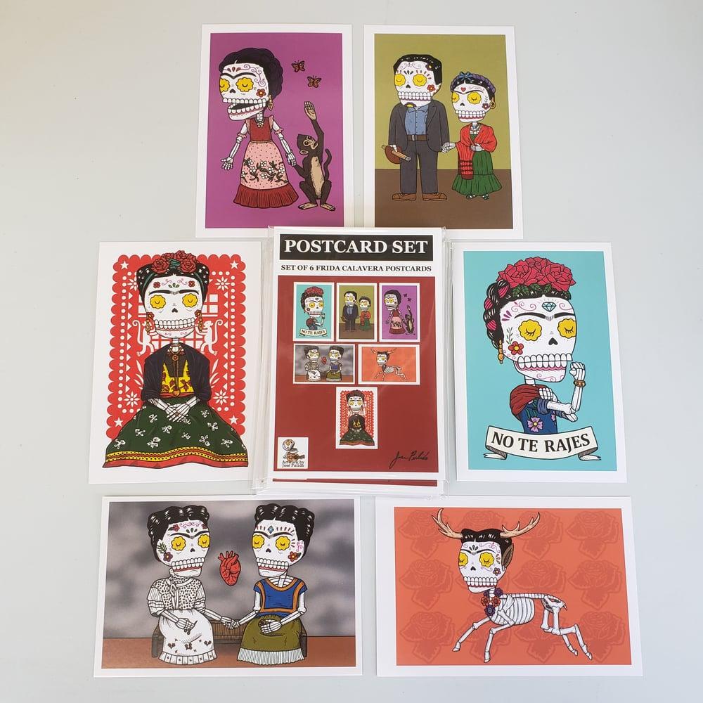 Frida Calaveras Postcard Set