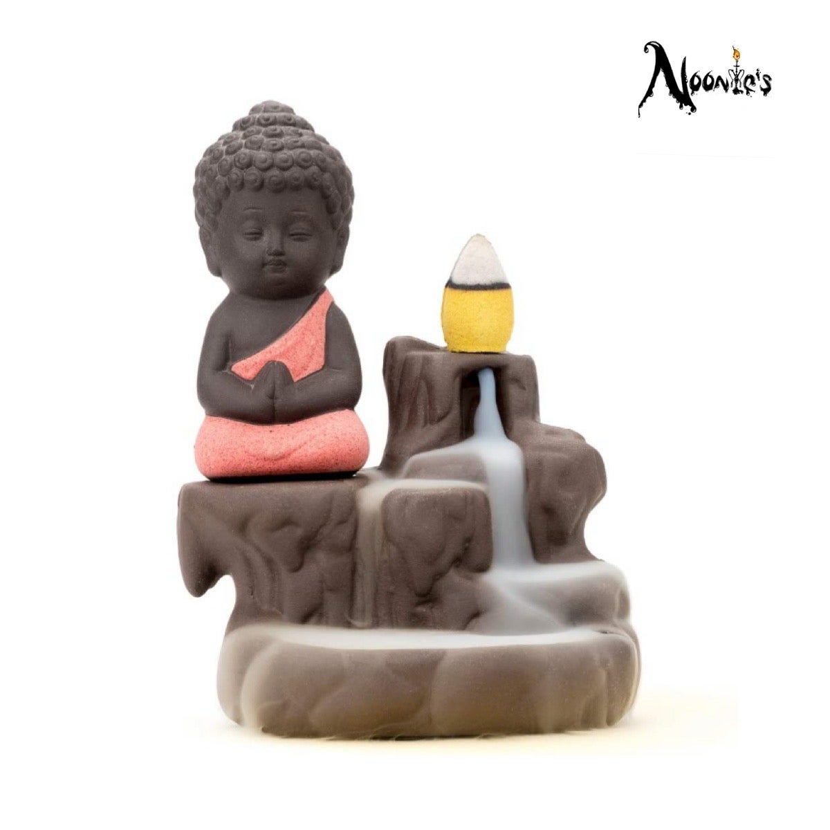 Image of Buddha incense flow burner