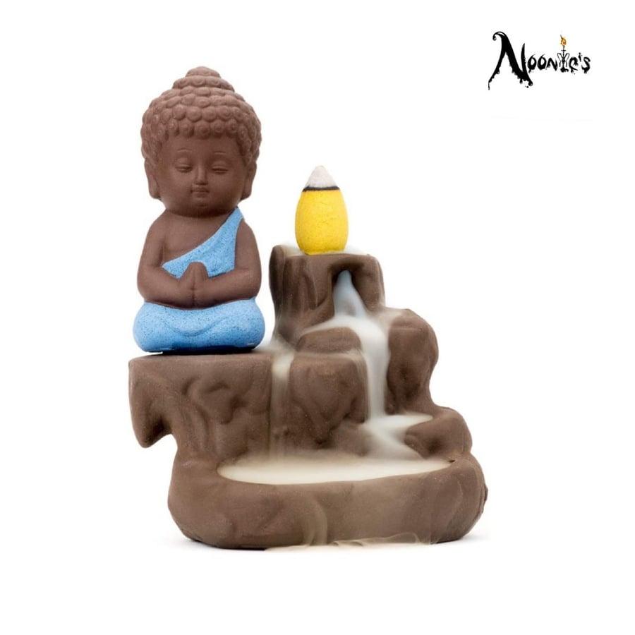 Image of Buddha incense flow burner