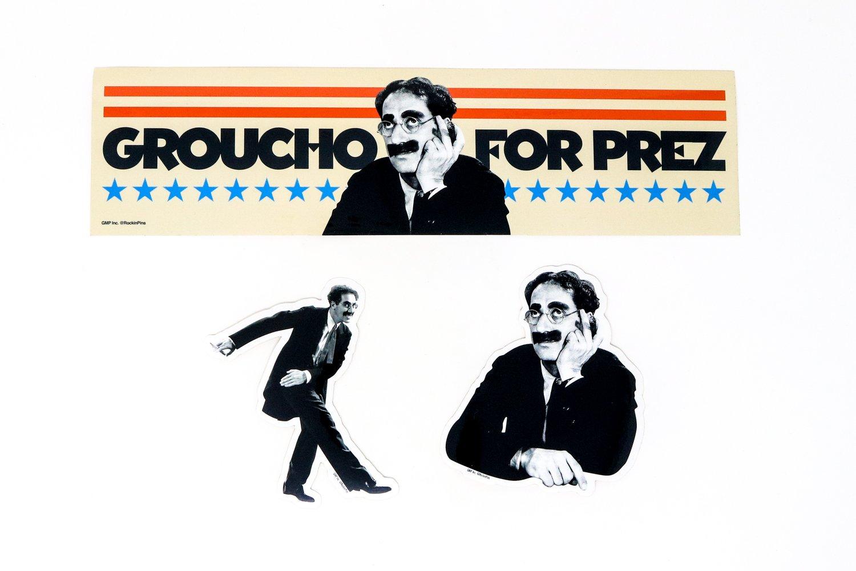 Image of Groucho Marx - Sticker Bundle 01