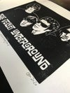 The Velvet Underground. Original lino cut print. A4 acid free paper. Signed.