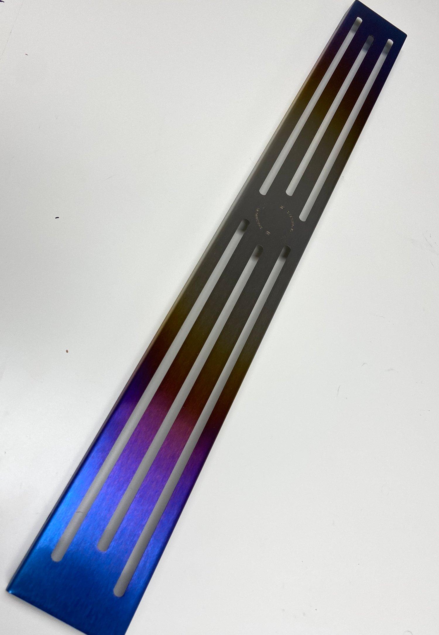 Image of S2000 Titanium Front Cross member cover.