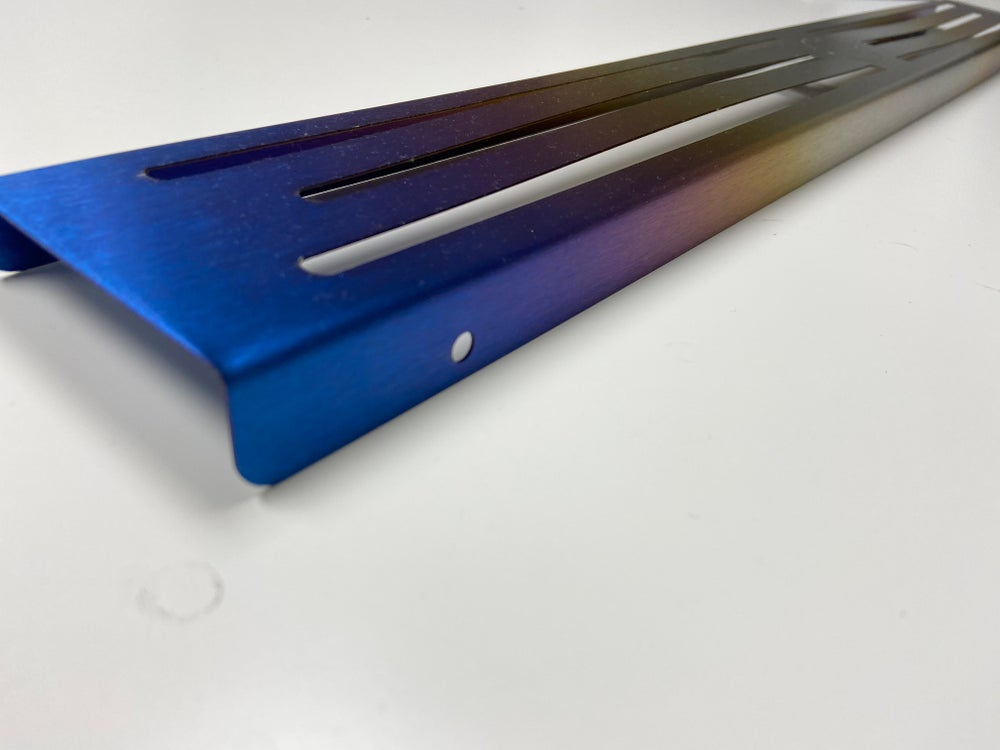 Image of S2000 Titanium Front Cross member cover.