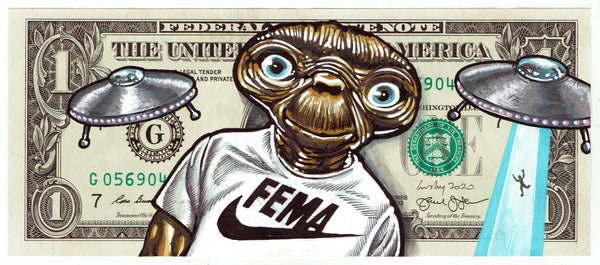 Image of Real Dollar Original. Fema Friends.