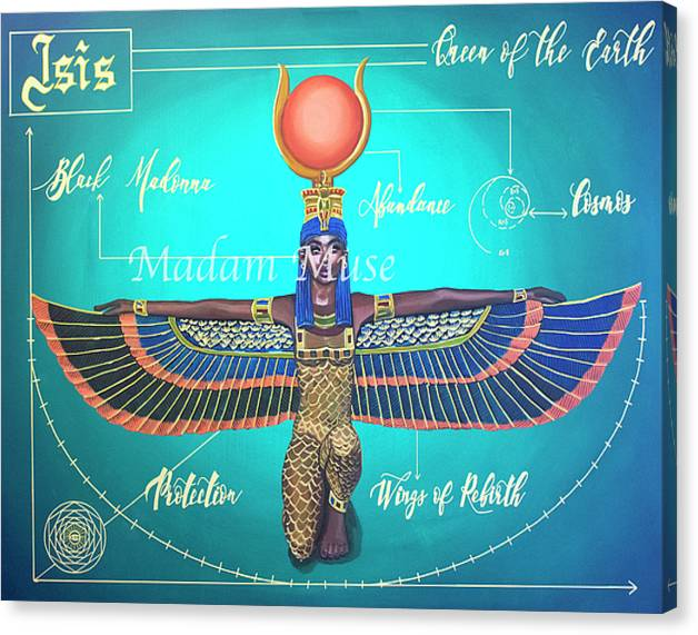 """Image of """"Isis Goddess"""" Limited Edition Canvas Prints"""
