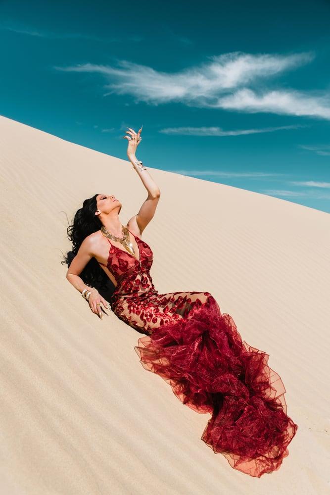 Image of Nebraska X Ashley Myers: Queen of the Desert