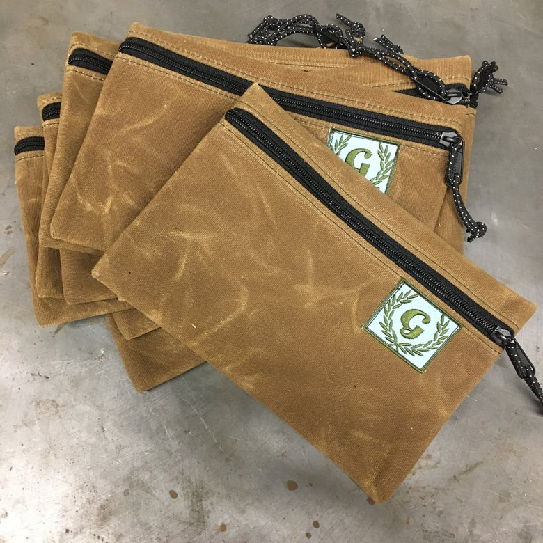 Image of RuthworksSF x Gallus Brown Wax Canvas Tool Pouch