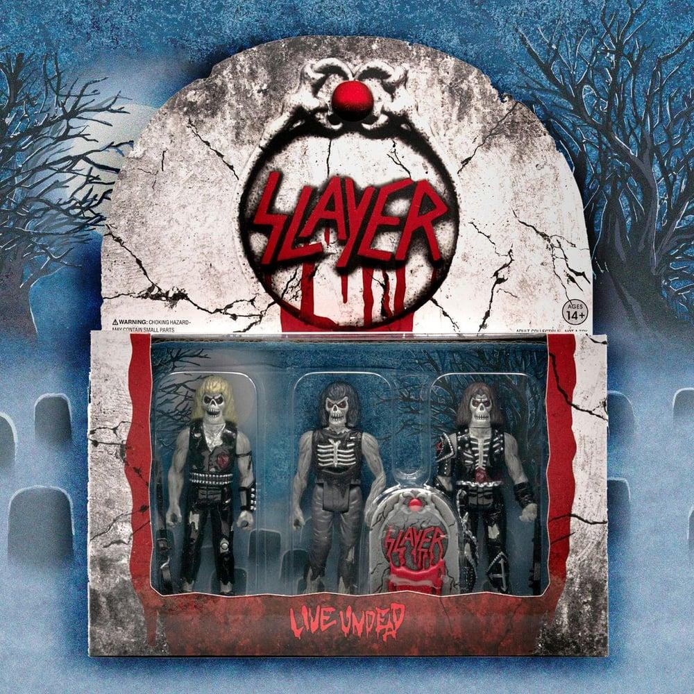 Image of SLAYER LIVE UNDEAD 3 PACK FIGURES