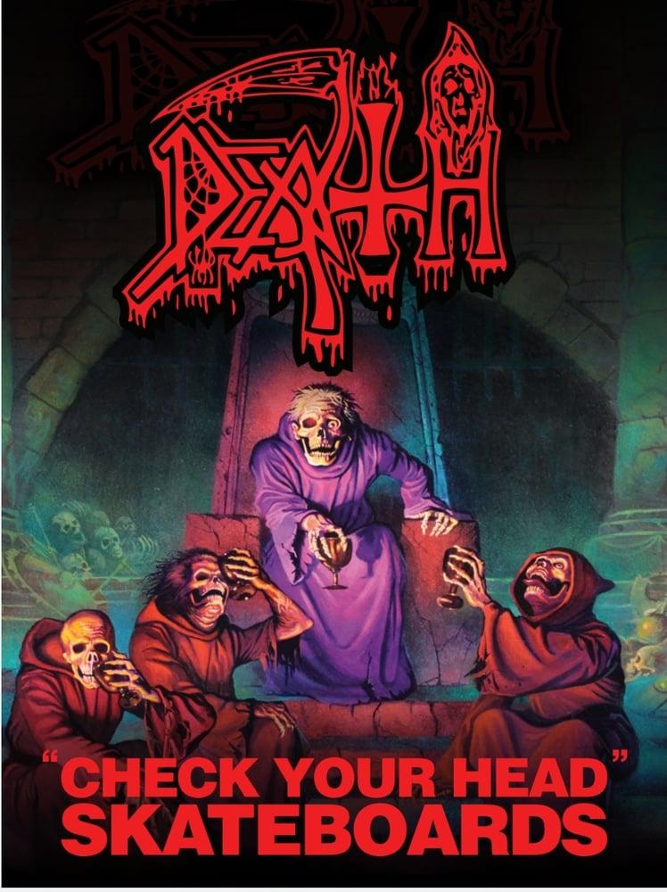 Image of DEATH SCREAM BLOODY GORE SKATEBOARD