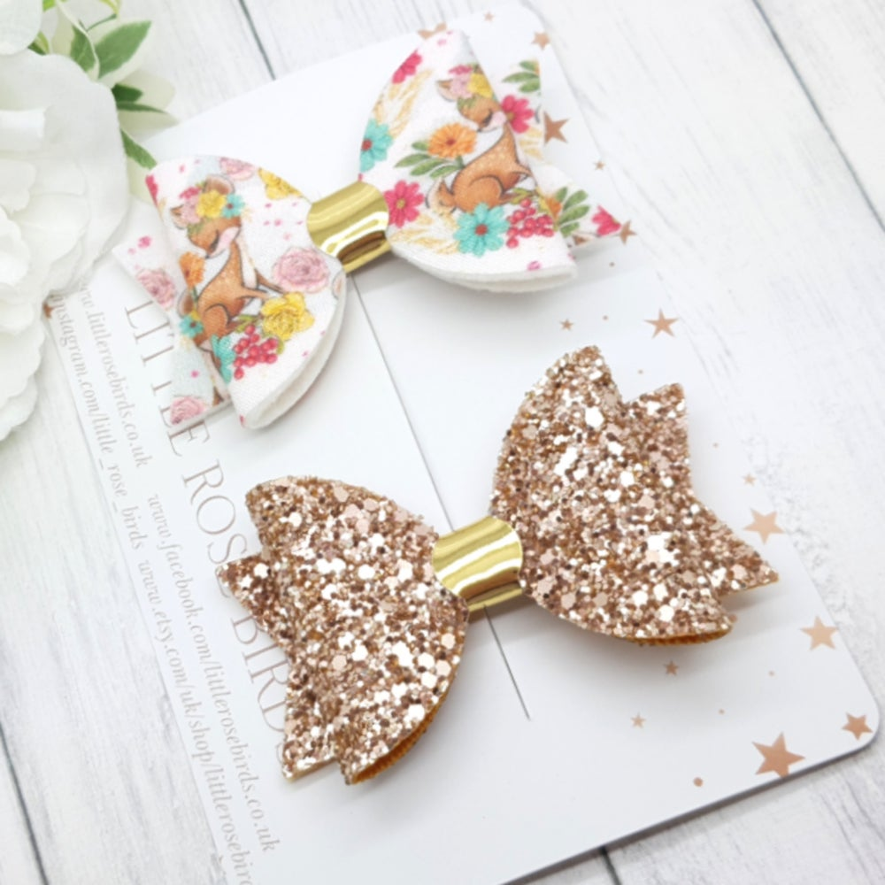 Image of Cute Deer Set - Choice of Headband or Clips