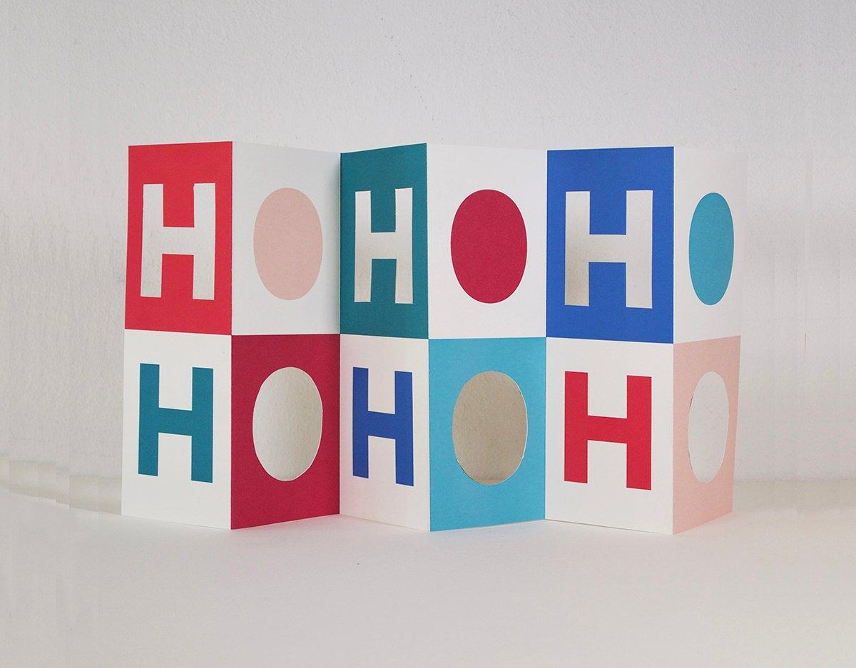 Image of HO HO HO card