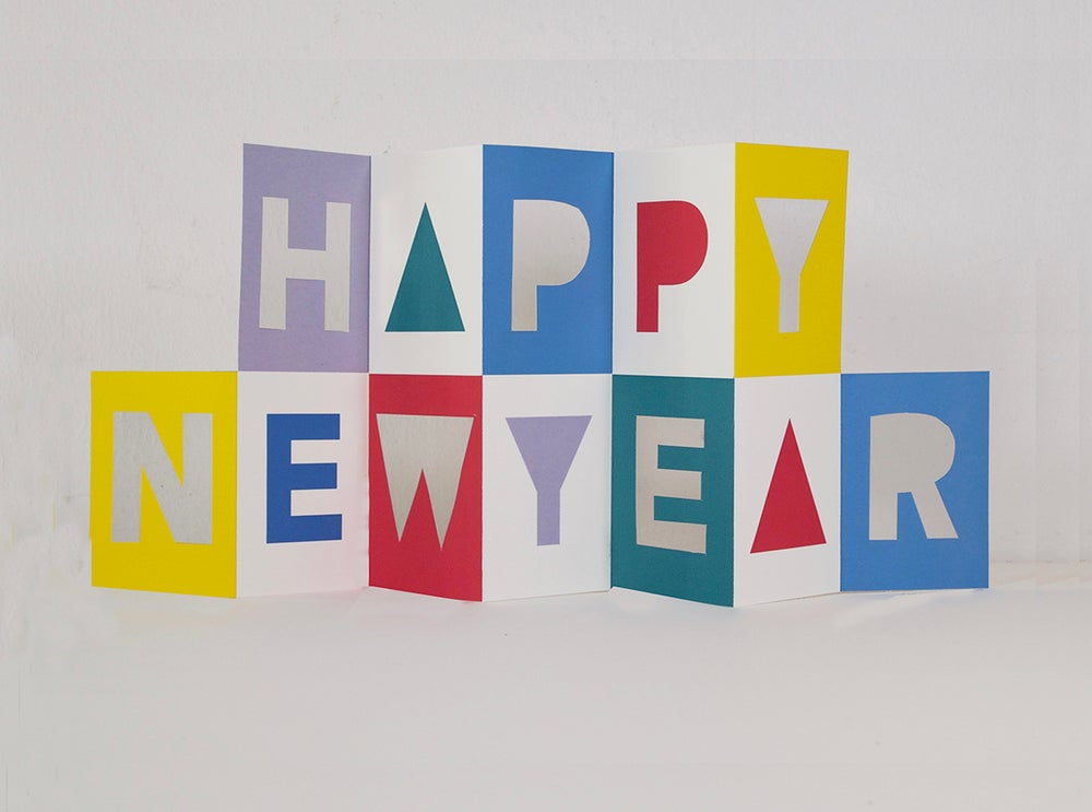 Image of Happy New Year Card