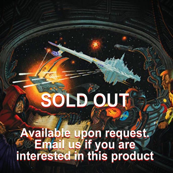 Image of Battlefleet Gothic (also known as Space Fleet) A4/A3 prints – CLEARANCE SALE