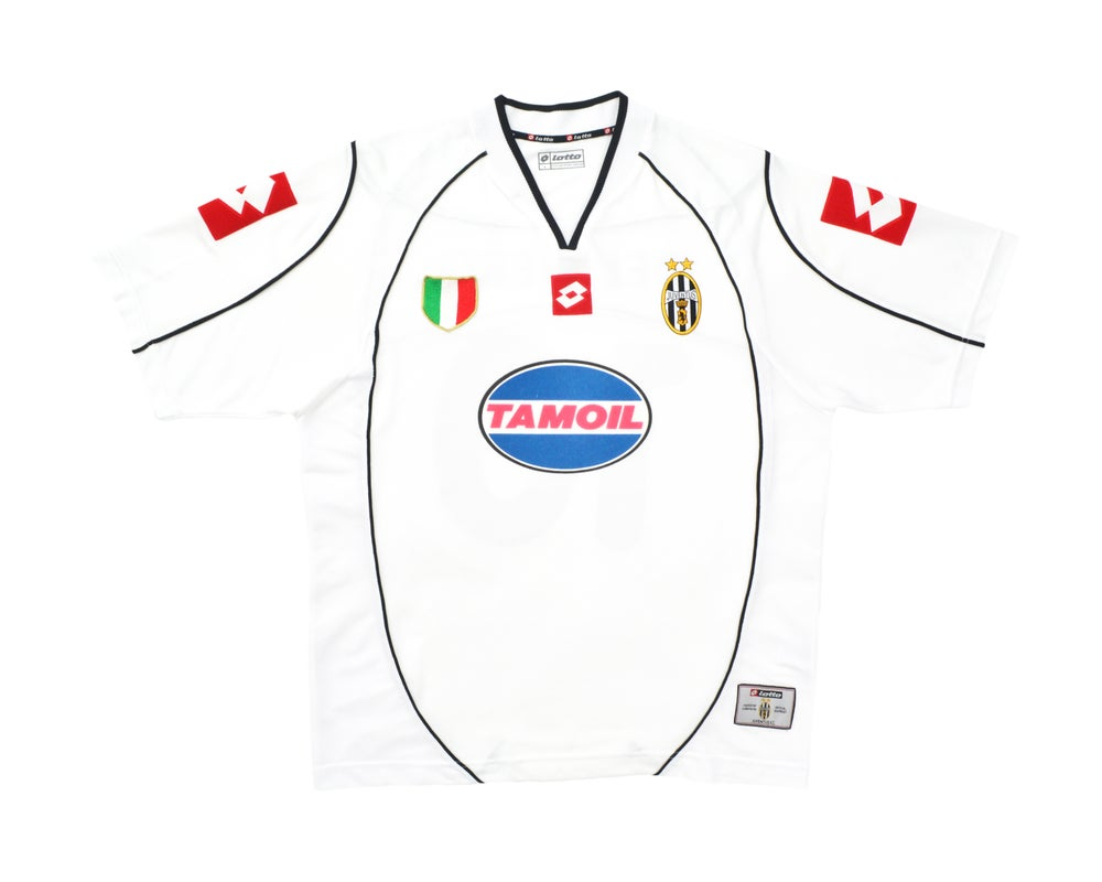 Image of 2002-03 Lotto Juventus CL Away Shirt  'Del Piero 10' L