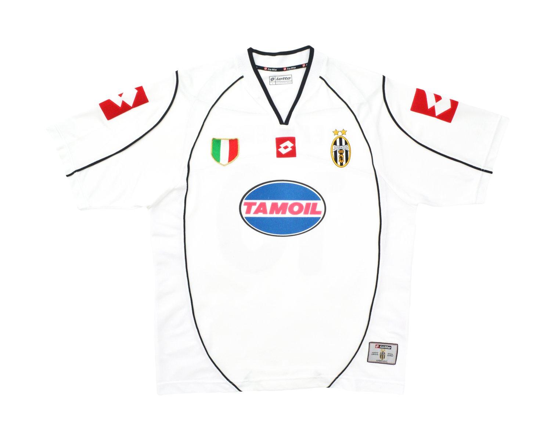 Image of 2002-03 Lotto Juventus CL Away Shirt  'Del Piero 10' L