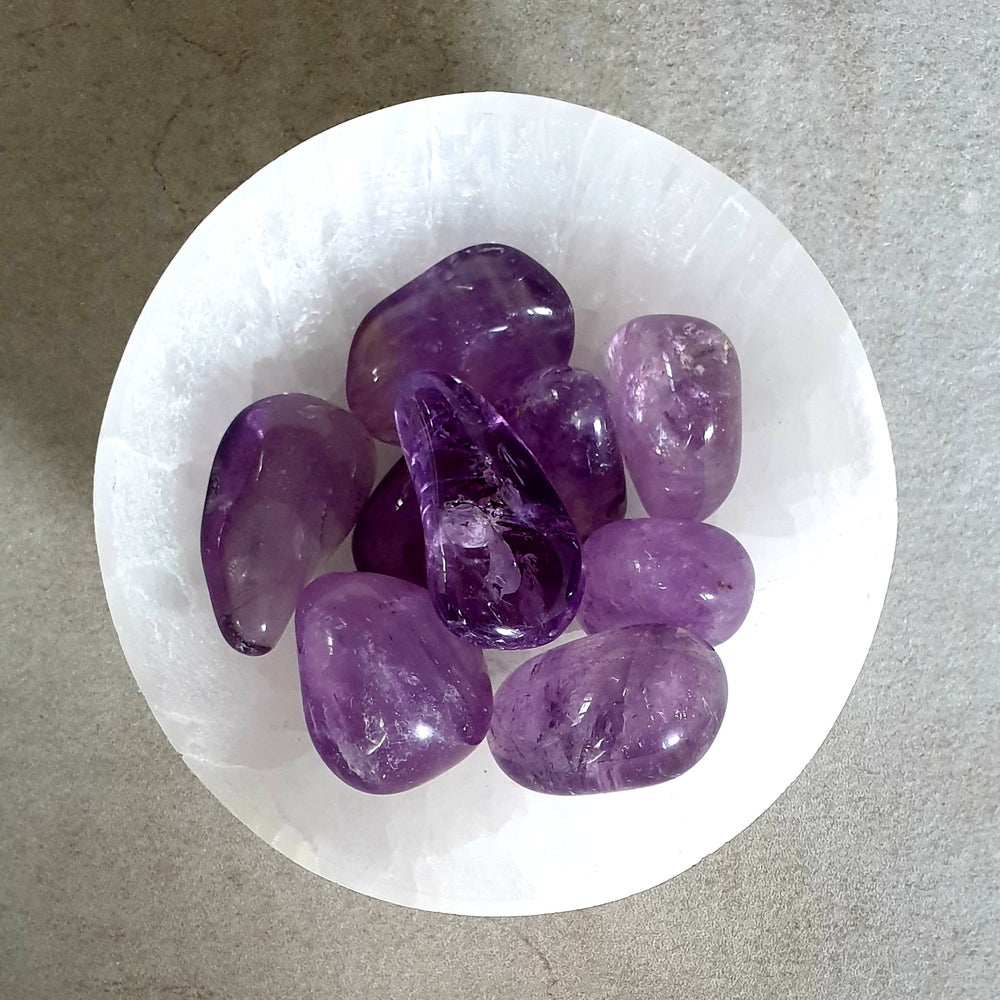 Image of AMETHYST Tumble Stone