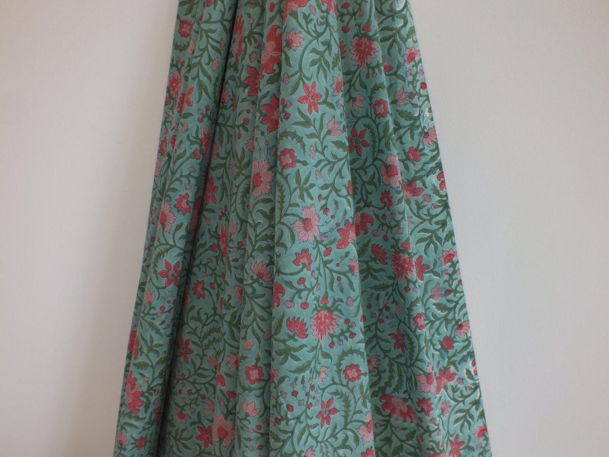 Image of Namasté fabric fleurs des champs