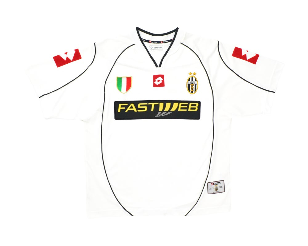 Image of 2002-03 Lotto Juventus Away Shirt M