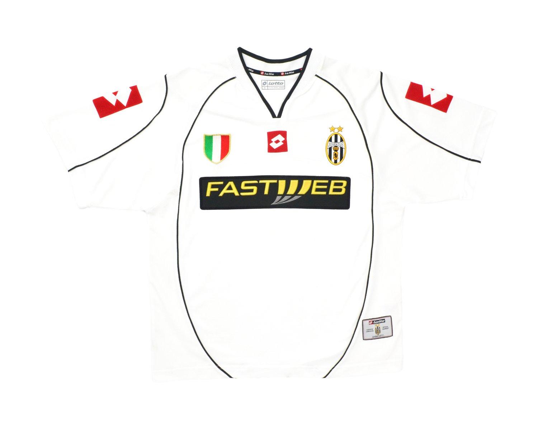 Image of 2002-03 Lotto Juventus Away Shirt M