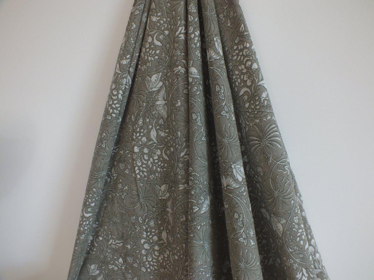 Image of Namasté fabric papillons