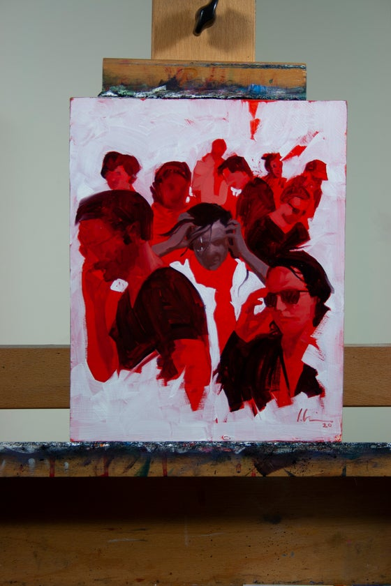 Image of Red Mother #8 Cover PRELIMINARY study