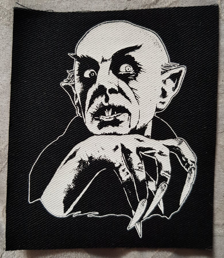Image of Nosferatu..Tribute to Max Schreck limited edition patches.