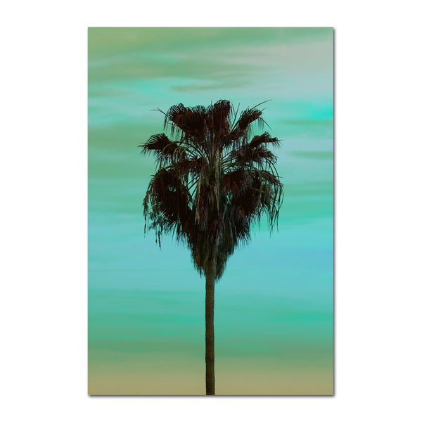 Image of BEACH PALM - GREEN