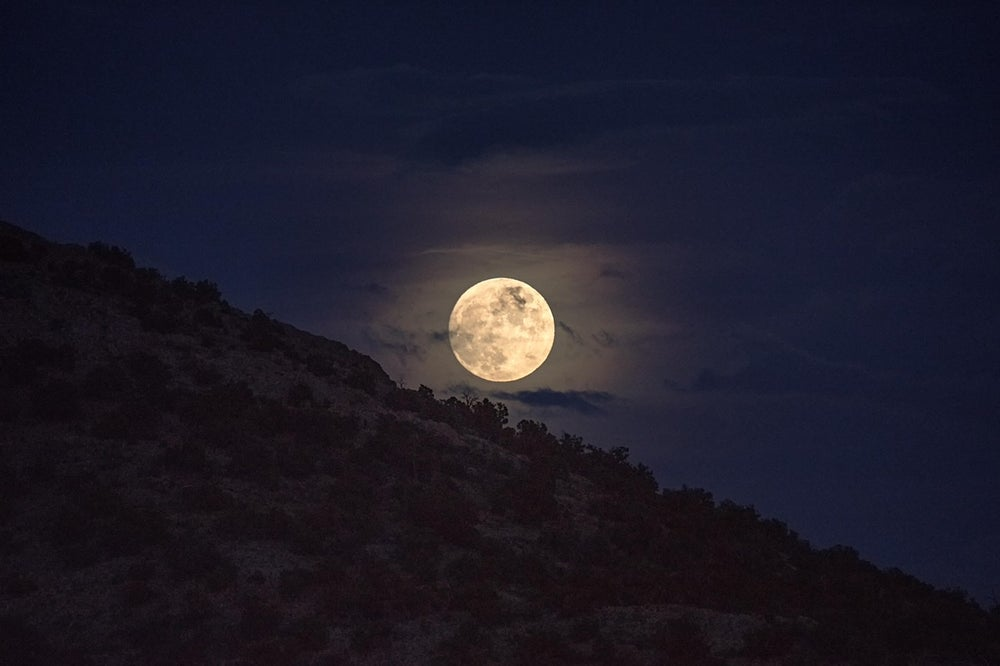 Image of Full Moon Rising
