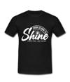 Shine T-Shirt Black
