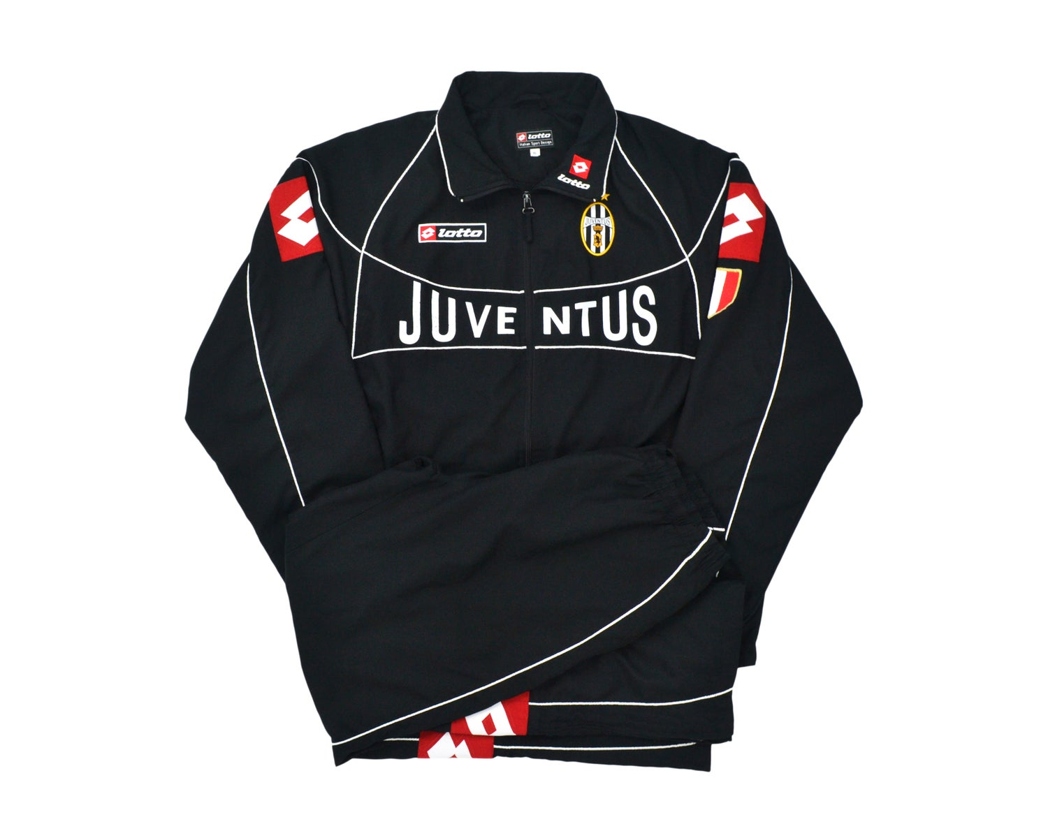 Image of 2002-03 Lotto Juventus CL Tracksuit XL