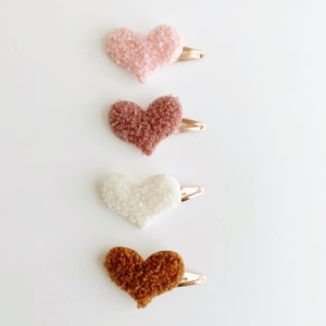 Image of Sherpa Hair Clips