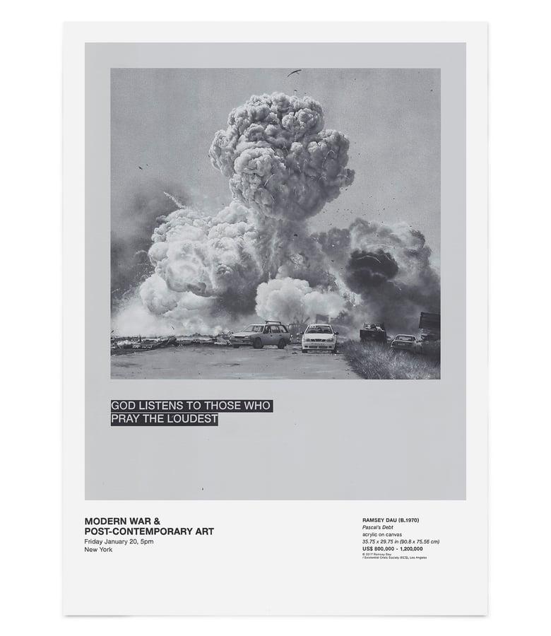 """Image of Ramsey Dau - """"Pascal's Debt"""" Giclée Print"""